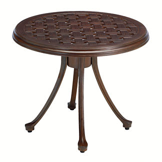 Provence Round Side Table by Summer Classics