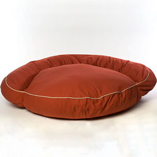 Large Classic Twill Bolster Bed