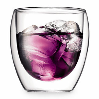Bodum Pavina 8 oz. Double Wall Glasses, Set of Two
