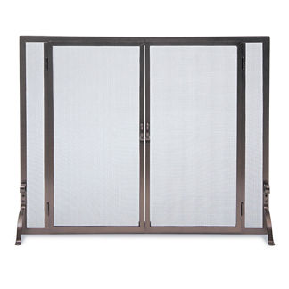 Full Height Fireplace Screen