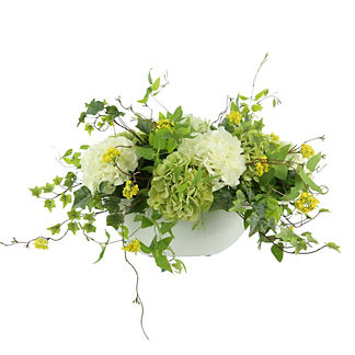 Summer Mixed Hydrangea Floral Arrangement