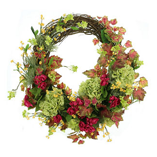 Coachella Floral Vine Wreath