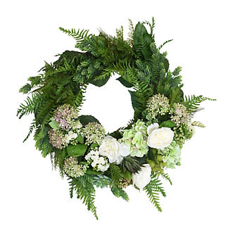 Sonoran Fern Wreath