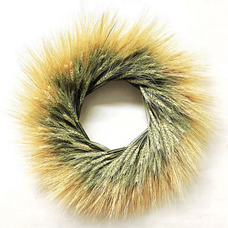 Wheat Helix Wreath