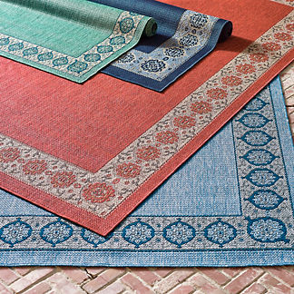 Santandria Border Indoor/Outdoor Rug
