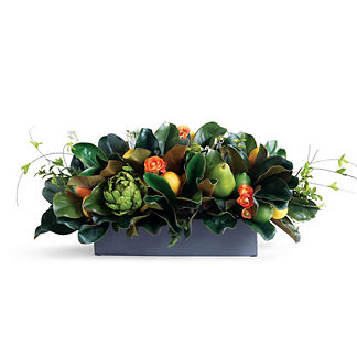 Mixed Fruit and Greenery Arrangement