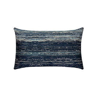Textured Indoor/Outdoor Lumbar Pillow by Elaine Smith