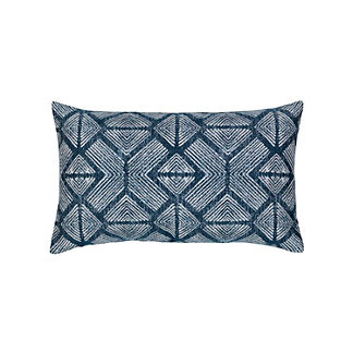 Bakuba Lumbar Indoor/Outdoor Pillow by Elaine Smith