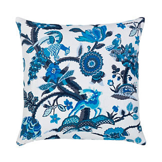 Folklore Indoor/Outdoor Pillow by Elaine Smith