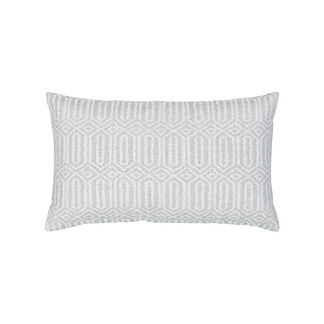 Link Lumbar Indoor/Outdoor Pillow by Elaine Smith