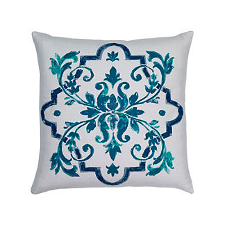 Talavera Indoor/Outdoor Pillow by Elaine Smith