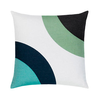 Encircle Outdoor Pillow by Elaine Smith
