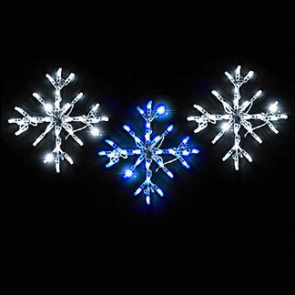 LED Mini Snowflakes