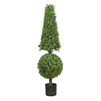 Outdoor Boxwood Ball Cone Topiary