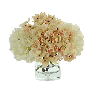 Mixed Hydrangea Bouquet Arrangement