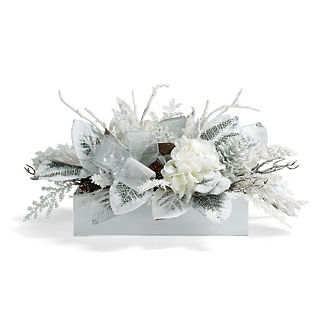 Frosty Holiday Floral Arrangement