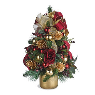 Floral Mix Topiary Tree