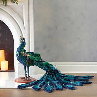 Mark Roberts Jeweled Peacock
