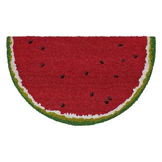 Watermelon Slice Coco Door Mat
