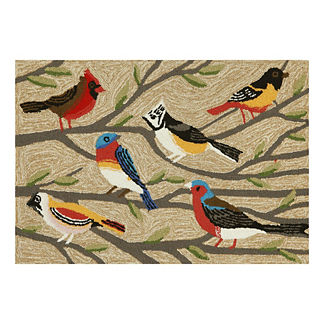 Bird and Branch Door Mat