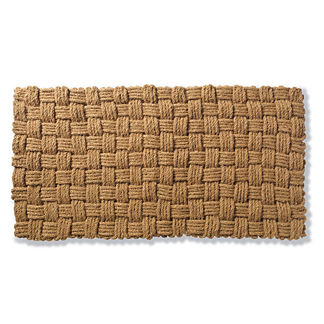 Jordan Basketweave Coco Door Mat