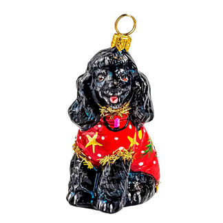 Ugly Christmas Sweater Dog Ornaments