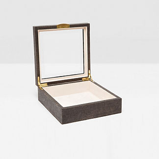 Henlow Square Jewelry Box by Pigeon and Poodle