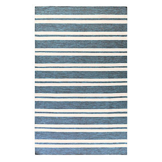Sunbrella Stripe Indoor/Outdoor Rug