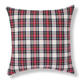 Preppy Plaid Decorative Pillow