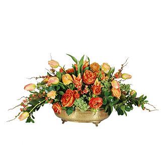 Tulip and Ranunculus Floral Arrangement