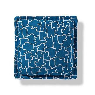 Calabasas Indoor/Outdoor Pillow in Turquoise
