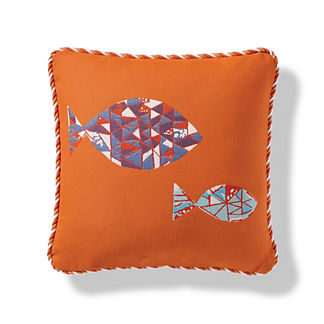 Prism Reef Indoor/Outdoor Pillow in Sunset