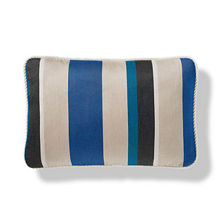 Cascade Stripe Mariner Indoor/Outdoor Pillow