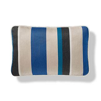 Cascade Stripe Mariner Indoor/Outdoor Pillow