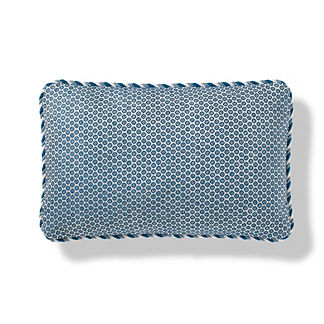 Pomeroy Dot Outdoor Pillow in Peacock