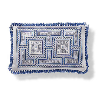 Samal Outdoor Pillow in Cobalt