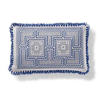 Samal Outdoor Pillow in Cobalt