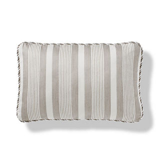 Taplow Lumbar Indoor/Outdoor Pillow in Dove