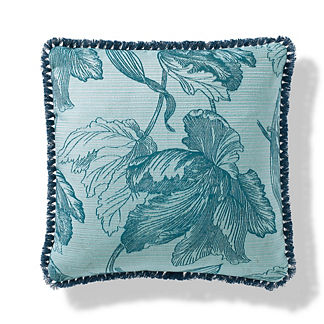 Amrita Blossom Outdoor Pillow in Aruba