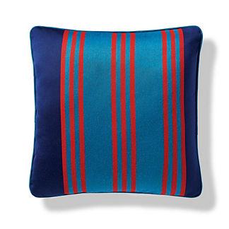 Brighton Stripe Indoor/Outdoor Pillow in Peacock