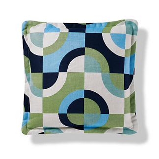 Color Block Malibu Indoor/Outdoor Pillow