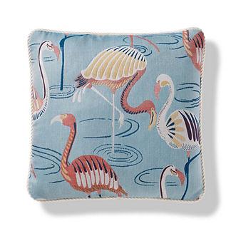 Flamingo Oasis Indoor/Outdoor Pillow
