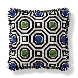 High Octane Indoor/Outdoor Pillow in Gingko