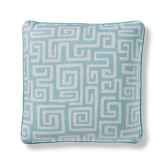 Kymi Maze Indoor/Outdoor Pillow