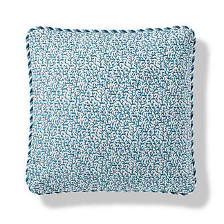 Melita Cay Indoor/Outdoor Pillow in Peacock