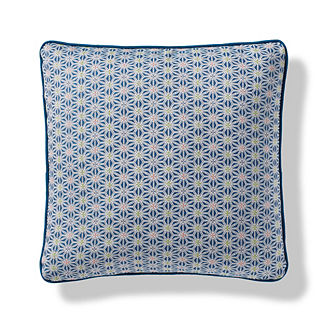 Meridian Star Indoor/Outdoor Pillow in Lagoon