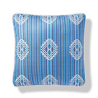 Miraflores Indoor/Outdoor Pillow in Pacific