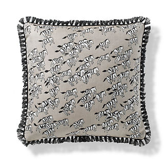 Serengeti Trek Indoor/Outdoor Pillow in Sand