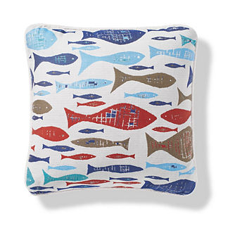 Sorrento Swimmers Mariner Indoor/Outdoor Pillow