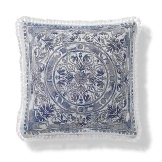 Terracina Indoor/Outdoor Pillow in Iceberg